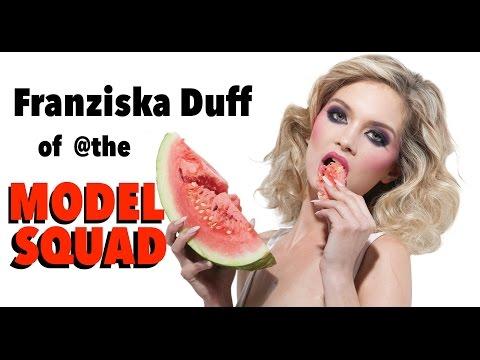 Franziska Duff of @theMODELSQUAD (видео)