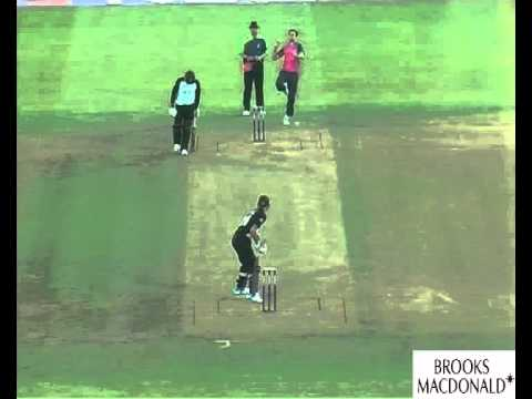 New Zealand in Sri Lanka 2009 - 1st Test -  Day One - Highlights