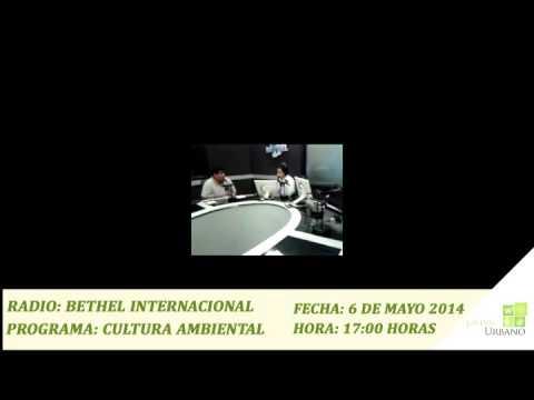JARDIN URBANO EN RADIO BETHEL INTERNACIONAL