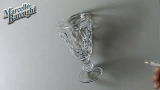 Drawing Time Lapse: a charming Absinthe Glass - IT Art