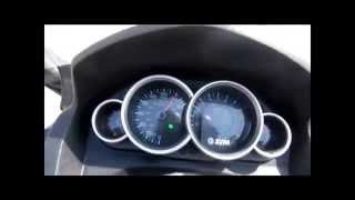 6. SYM GTS 300i  acceleration and Top speed