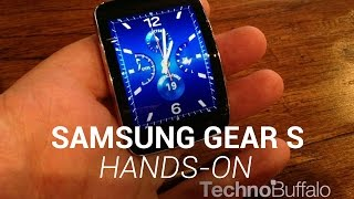 Samsung Gear S Hands-On More from IFA 2014: http://bit.ly/1r2uyLR Samsung pretty much has the smartwatch market covered. In the past 12 months, the company h...