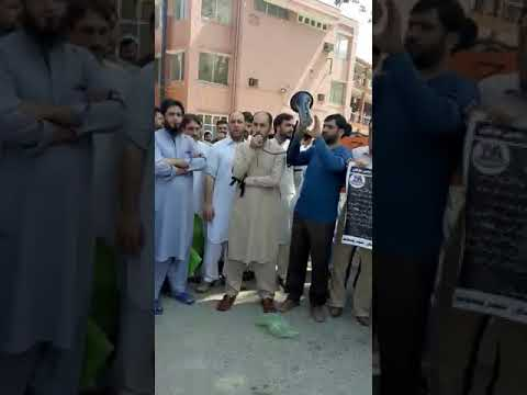 Nurses strike in lrh peshawar