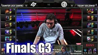 CLG vs TSM (team Solomid) | Game 3 Grand Finals S5 NA LCS Summer 2015 Playoffs | TSM vs CLG G3 Final