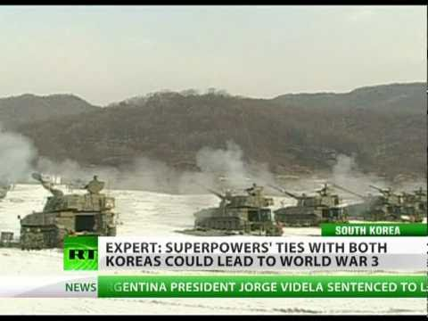 Superpowers behind South, North Koreas could trigger World War 3′