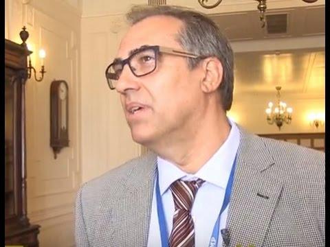 Albert Cortina participó en un encuentro sobre el envejecimiento en Santander