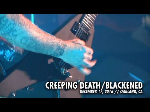 Metallica: Creeping Death & Blackened (MetOnTour - Oakland, CA - 2016)