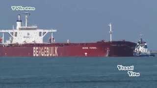 Video VesselView: Port of Rotterdam - Inbound Berge Fjord (TimeLapse Fragments) MP3, 3GP, MP4, WEBM, AVI, FLV September 2018