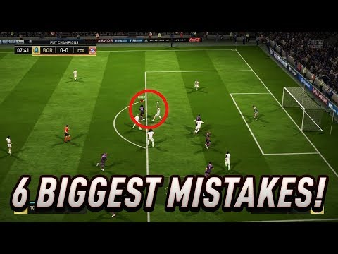 THE 6 BIGGEST MISTAKES PEOPLE DO IN THE DEFENCE - FIFA 18 DEFENDING TUTORIAL