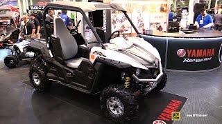 10. 2017 Yamaha Wolverine R Spec 700 ESP Special Edition ATV - Walkaround - 2016 Toronto ATV Show