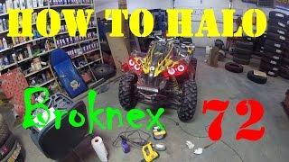 11. 72. How to install Halo Headlight kit on Can-Am Renegade - Broknex Alaska Outdoors