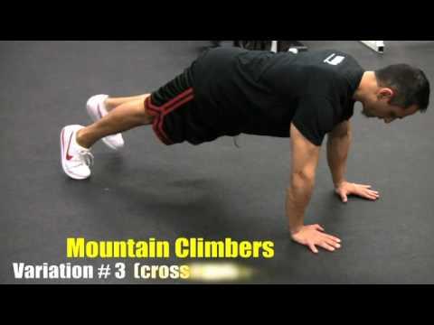 Mountain Climber (5 Variations) (видео)