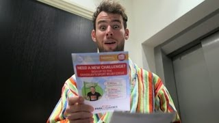 Mark Cavendish is up for the challenge | Sport Relief 2014