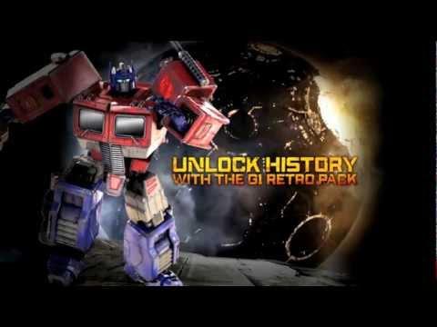 Transformers : La Chute de Cybertron - Bonus de précommande G1 Retro Pack