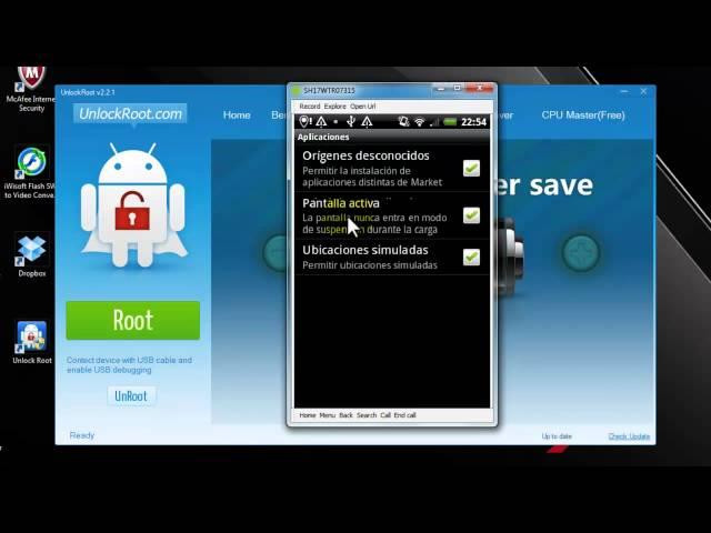 Rootear tu android con unlock Root más fácil imposible