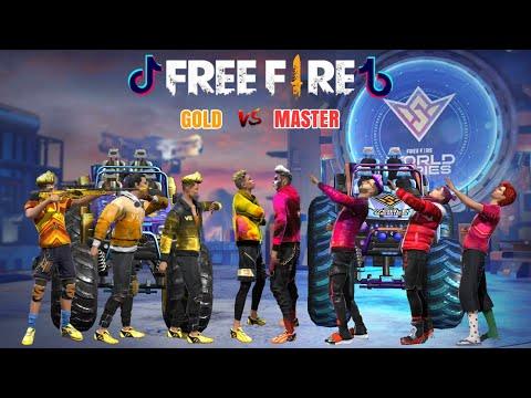 Tik Tok Free Fire ( Tik tok ff ) Viral, Menghibur,Bar bar,Lucu,Pro Awm,Master Vs Gold
