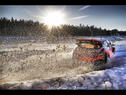 Vídeo 2ª jornada WRC Rallye de Suecia 2015, Neuville da la sorpresa