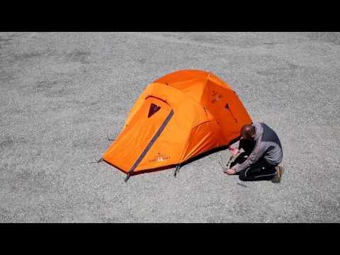 Відео трансляція намету  Ferrino Pilier 2 (8000) Orange
