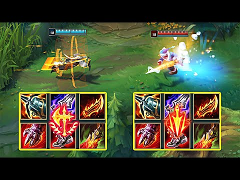 CONQUEROR vs LETHAL TEMPO MASTER YI! WHICH RUNE IS BETTER IN SEASON 11?