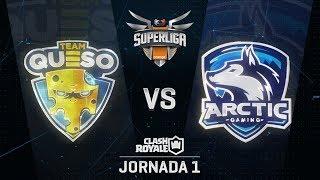 SUPERLIGA ORANGE - TEAM QUESO VS ARCTIC INJOO  - Jornada 1 - #SuperligaOrangeCR1