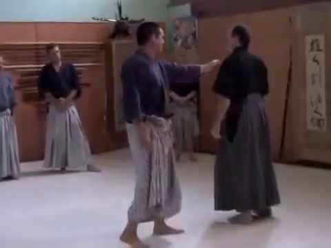 Samurai Jujutsu James Williams Sensei Nami ryu