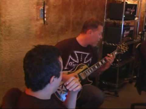 James Hetfield Playing That Was Just Your Life Riff