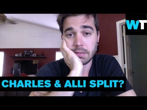 alli - The internet's favorite couple, Charles and Alli Trippy, are taking a break from each other. They've been making daily videos for the past five years, and Ch...