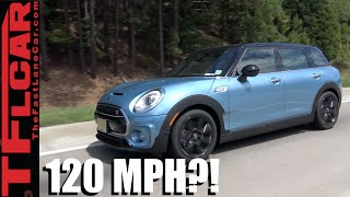Driving a 2016 Mini Clubman at 120 MPH: Mini Takes the States Day 1 by The Fast Lane Car