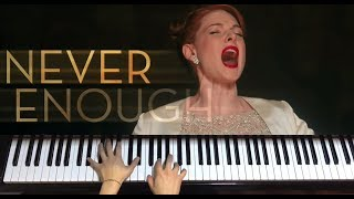 "Video ""Never Enough"" The Greatest Showman-Piano Cover 위대한쇼맨 OST [신지호] MP3, 3GP, MP4, WEBM, AVI, FLV Juni 2018"