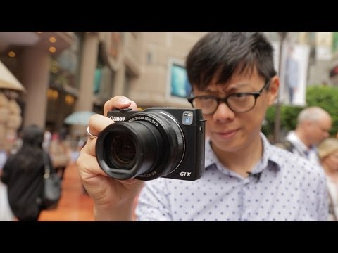 Canon G1 X  Mark II Hands-on Review