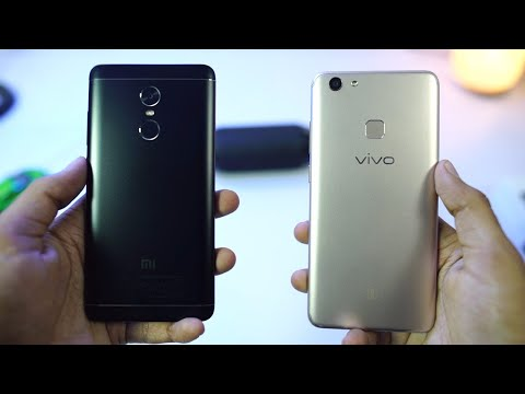 Vivo V7 Plus vs Redmi Note 4 Speed Test and Memory Management Test