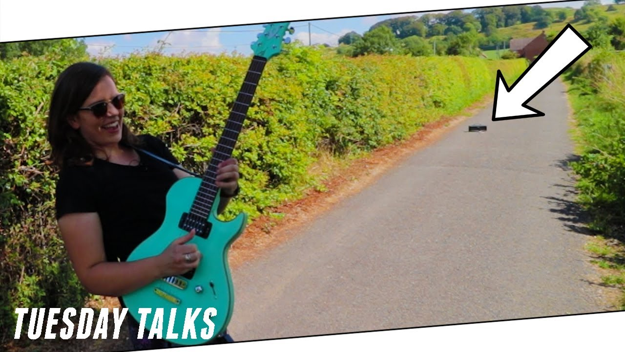 THE WORLD'S FIRST TOTALLY WIRELESS GUITAR AMP [Tuesday Talks Ep. 77]