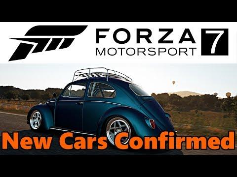 Forza Motorsport 7 - NEW CARS CONFIRMED! FM7 Car List