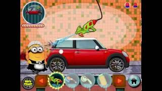 Minion Car Wash is an Other game on GaHe.Com. You can play Minion Car Wash in your browser for free. Minion hasn't washed his car for a while and it is very dirty. He received some car wash voucher and today it is a good time to use them.http://www.gahe.com/Minion-Car-Wash