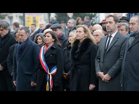 Εκδηλώσεις μνήμης για τα θύματα της επίθεσης στο «Charlie Hebdo»…