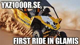10. 2016 Yamaha YXZ1000R SE Riding in Glamis