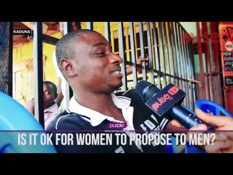 Purple 5050: Is It Ok For Women To Propose To Men? | Pulse TV Vox Pop