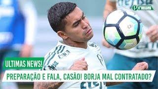 No programa de hoje do Globo Esporte SP, Casagrande responde se o Palmeiras errou em contratar o Borja, e veja também a...