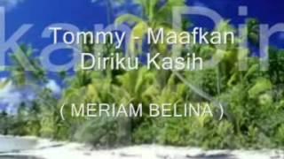 Tommy (Heidi Diana) - Maafkan Diriku Kasih ( Lagu Cafe Manado )