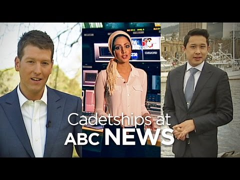 Abc - Hear from some of the staff who have participated in ABC News' cadetship program. Apply here: http://ab.co/1lFpKQt Indigenous cadetship: http://ab.co/1uq9Hp6.