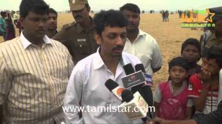Prabu Yuvaraj at Ra Movie Banner Flying