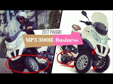 Look This !! piaggio mp3 300ie business (additional features of a larger wheel base)