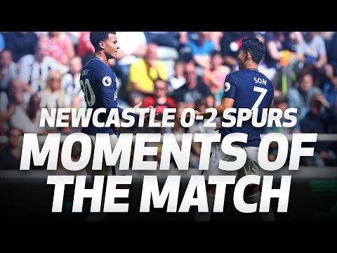 Video: MOMENTS OF THE MATCH | Newcastle 0-2 Spurs