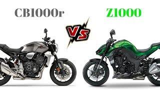6. Honda CB1000r vs Kawasaki Z1000