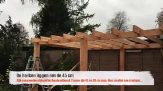 Download Lagu Hoe doen ze dat:  Terras overkapping maken van Douglas hout (deel 1) Mp3