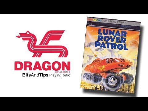 DRAGON 32 Games LUNAR ROVER PATROL Video juegos 8 BITS BITSANDTIPS