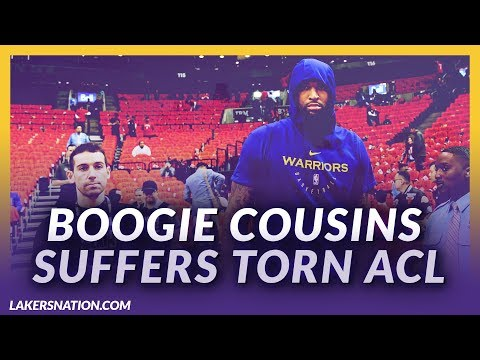 Video: Lakers News Feed: Boogie Suffers Torn ACL Training In Las Vegas