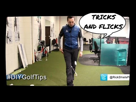 LEARN GOLF TRICKS TO DO AT HOME