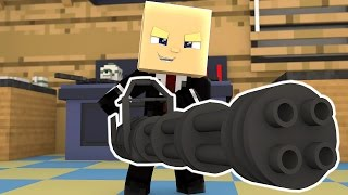 Minecraft BOSS BABY - Baby Blows Up The House!