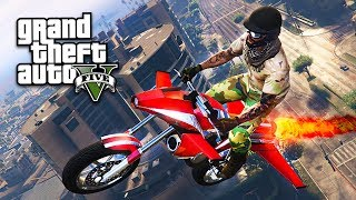 New GTA 5 Gun Running DLC update new flying rocket bike! GTA 5 Gunrunning DLC for GTA 5 Online! ▻ Subscribe for more ...